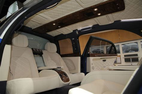 bentley mulsanne limo interior έκθεση γενεύης 2016 bentley mulsanne facelift και