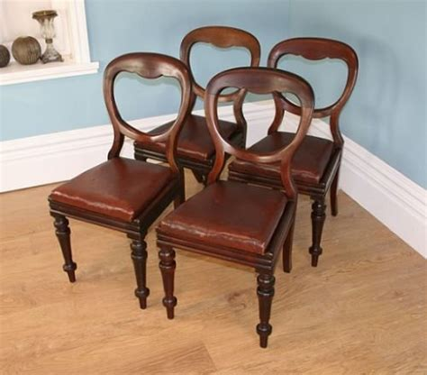 Antique Dining Chairs Uk Antique Mahogany Set Of 4 Dining Chairs Circa 1860 1880 108944 Sellingantiques