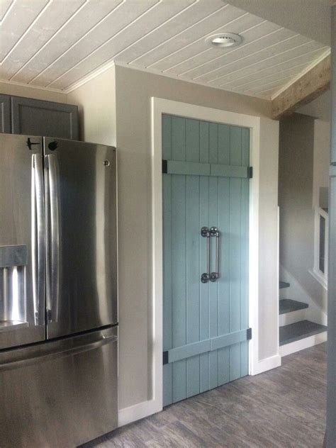 Pantry Doors Annie Sloan Duck Egg Blue Interior Barn Barn Doors For Pantry