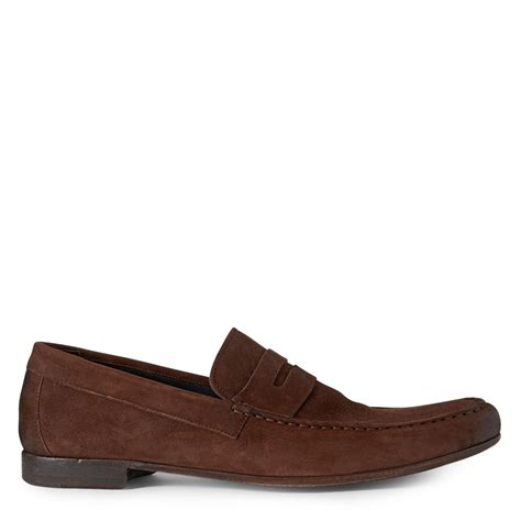 paul smith loafers paul smith mancini loafers in brown for lyst