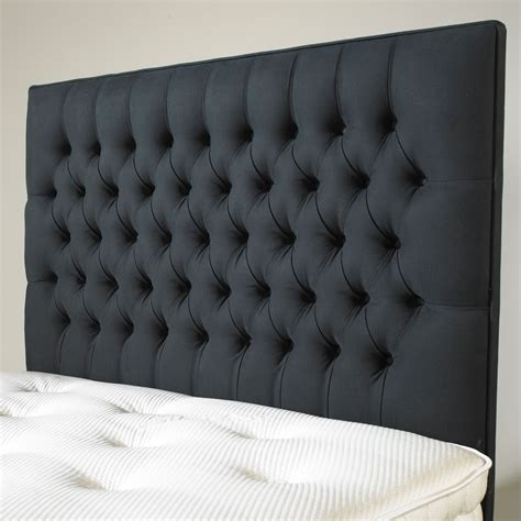 Pied A Terre Beatrice 135cm Headboard Dark Grey Review