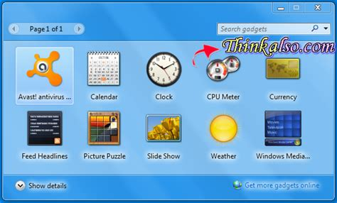 Desk Top Gadgets by Free Tips How To Disable Windows 10 Gadgets Sidebar
