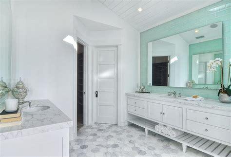 green and white tiles for bathroom mint green and white bathroom white master bathroom with mint green tile backsplash