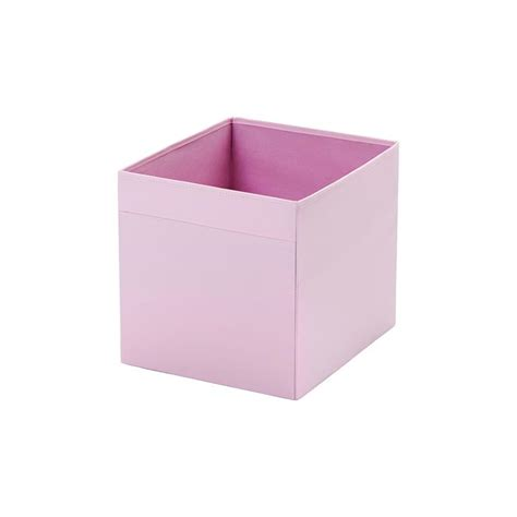 ikea storage box ikea folding box dr 246 na storage box in 7 colours ebay