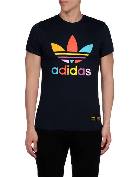Tshirt Pharell adidas by pharrell williams t shirt in blue for blue lyst