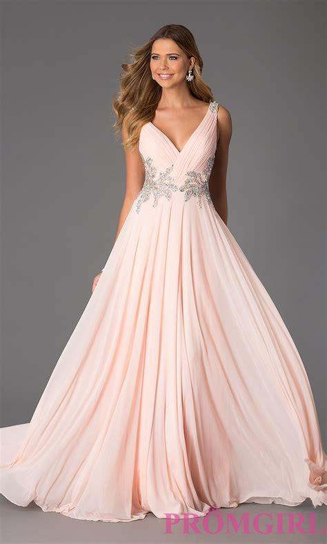 sleeveless v neck jvn by jovani prom dress
