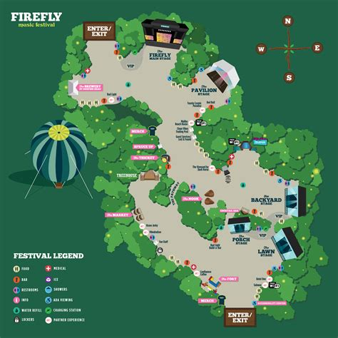festival directions 2017 festival maps firefly festival