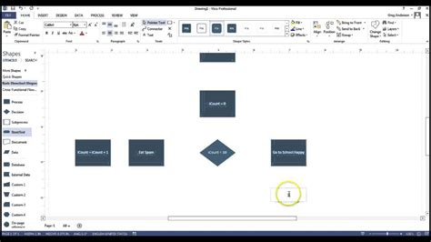 visio 2013 flowchart create a flowchart using visio
