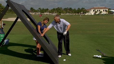 flat golf swing video how to get your swing on plane with martin hall golf channel