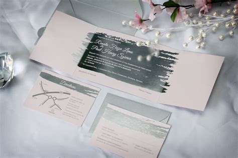 custom foil sted wedding invitations silver foil sted wedding invitations impressions custom invitations for weddings and bar