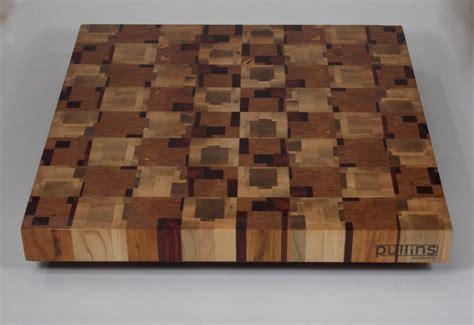 Cutting Board Designs End Grain Cutting Board Chaotic Pattern 4
