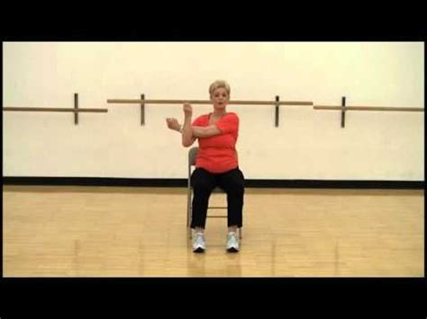 chair workout exercise  chair exercises  pinterest