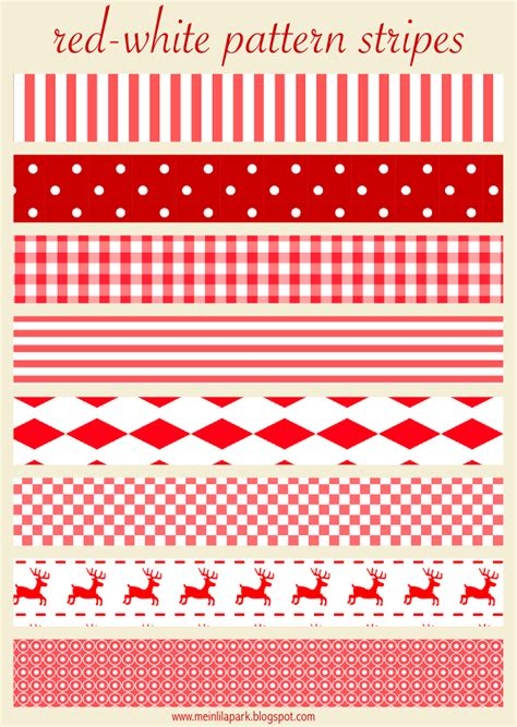 printable xmas paper chains free printable red and white christmas scrapbooking