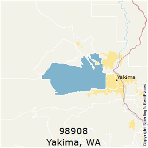 zip code map yakima county best places to live in yakima zip 98908 washington