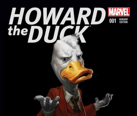 Marvel Film Howard The Duck | howard the duck 2015 1 movie variant comics