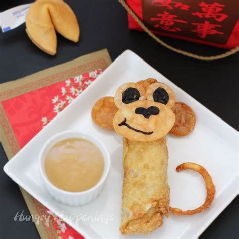 new year egg roll recipe new year egg roll monkeys