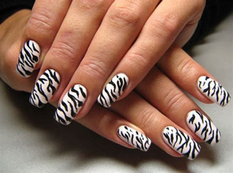 nails designs zebra print 30 spectacular nail design ideas and nail arts with