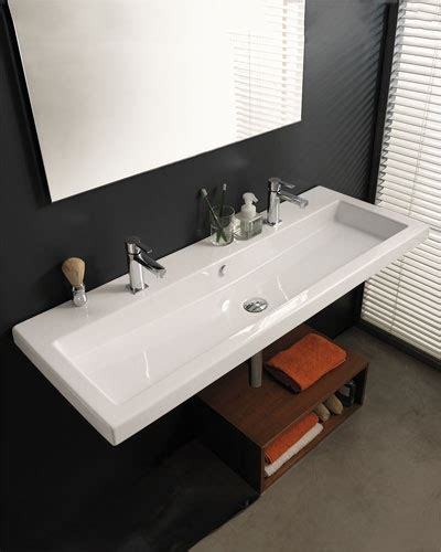 wide bathroom sink nameeks quot tecla quot wide sink 749 design bathroom