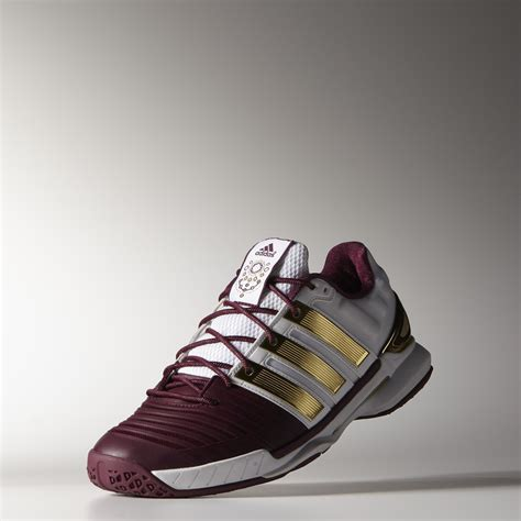 adidas mens adipower stabil 11 limited edition indoor shoes white gold tennisnuts