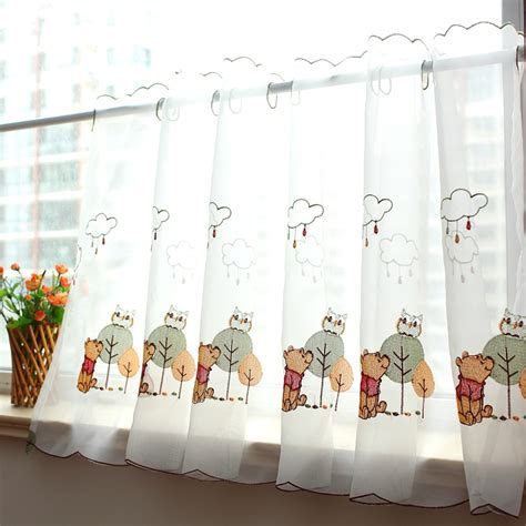 owl kitchen curtains compare prices on owl window curtains shopping buy low price owl window curtains at