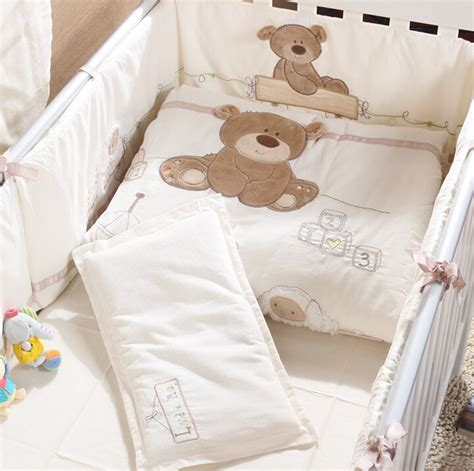 baby crib bedding neutral unisex aliexpress buy unisex 5 item baby bedding set crib