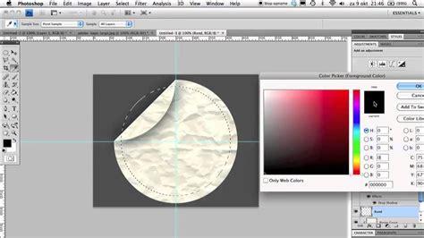 tutorial logo maken sticker met logo photoshop tutorial nl youtube