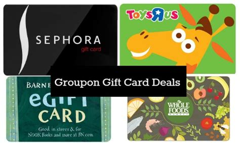Gift Card Groupon - groupon gift card deals southern savers