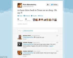 Heartbreaking before the crash he tweeted that they were driving