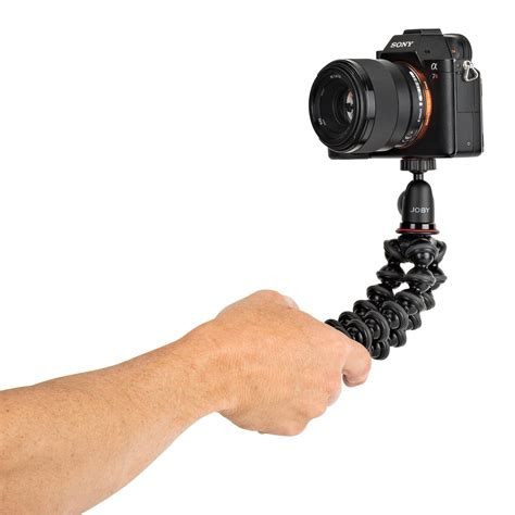 Joby Gorillapod 1k Kit With gorillapod 1k kit compact tripod stand with for content creators youtubers and vloggers