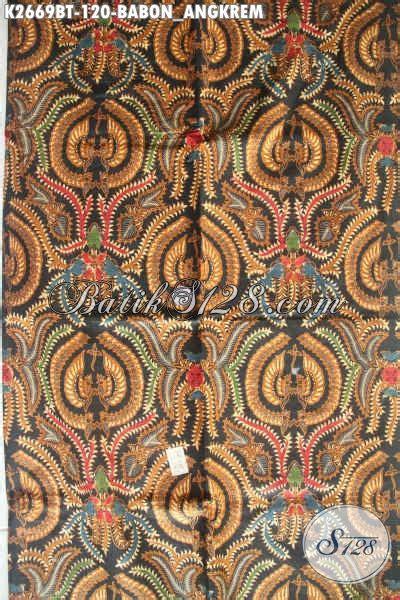Batik Tulis Motif Babon Angkrem kain batik klasik motif babon angkrem batik istimewa