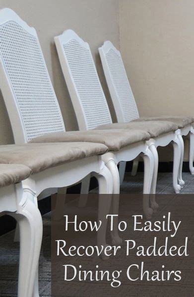 how to recover an armchair 25 best ideas about recover dining chairs on pinterest