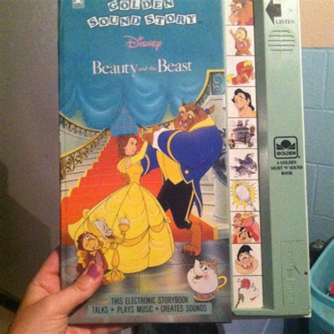 E Sound Book 10 Theme free and the beast golden sound story book children s books listia auctions for