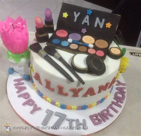 themed birthday cakes coolest make up themed cake