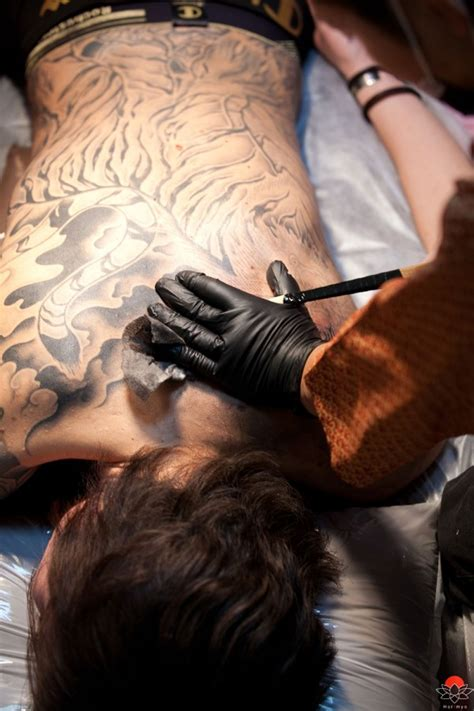 oriental tattoo artists horimyo traditional japanese tebori tattoo artist interview