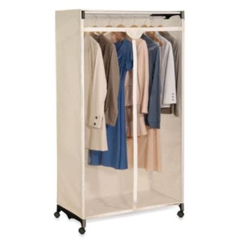 Buy Portable Closet by Buy Wardrobe Clothes Closet From Bed Bath Beyond