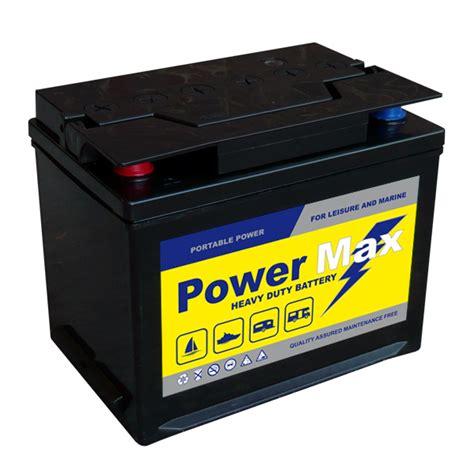 boat battery mca 85 ah powermax 85 leisure marine battery