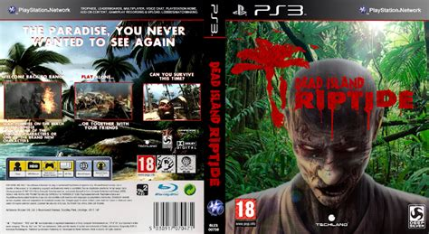 Bd Ps 3 Dead Island capa dead island riptide ps3 gamecover capas customizadas para dvd e bluray