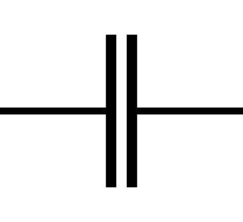 capacitor and its symbol original file svg file nominally 35 215 32 pixels file size 1 kb