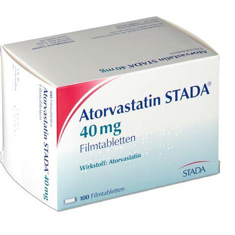 Atorvastatin 40 Mg 40mg atorvastatin stada 40 mg filmtabletten shop apotheke