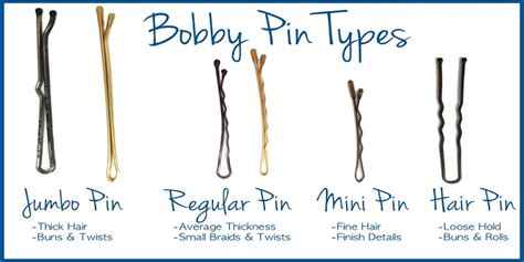 what type of hair can be used for crotchet braids 4 types of bobby pins and their useskhoobsurati