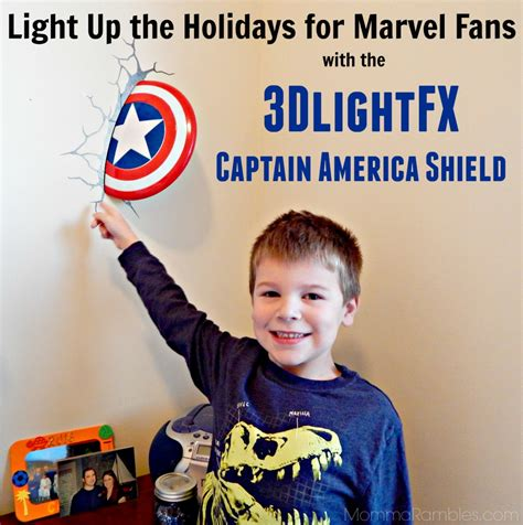 light up the holidays for marvel fans with the 3dlightfx