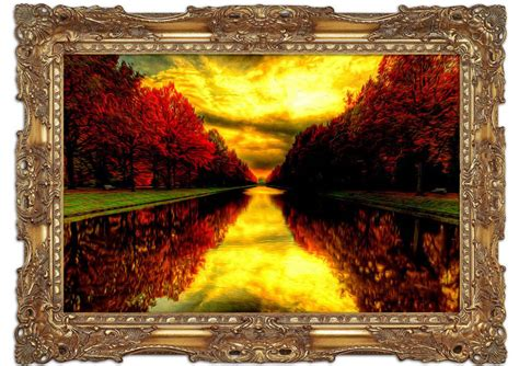 printed wall murals fall reflections lake mural printed wall mural