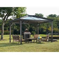 Sunjoy 13 Ft Royal Octagon Hardtop Gazebo by Pinterest The World S Catalog Of Ideas