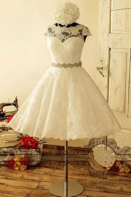 summer bohemian white sheer lace bridesmaid dresses  neck