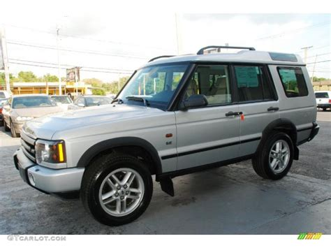 silver land rover discovery 2003 zambezi silver land rover discovery se 47767367