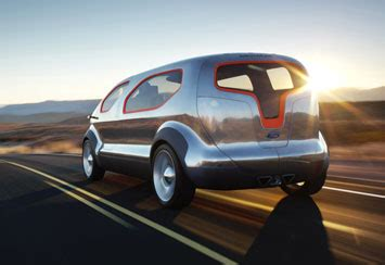 Ford Airstream Hybrid Comfort by Ford Airstream Concept Car Design