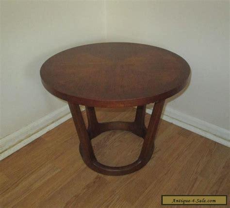 small walnut end table mid century modern small walnut side end