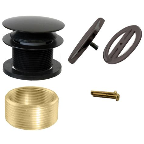 overflow trim ring oil rubbed bronze westbrass illusionary universal overflow trim oil rubbed