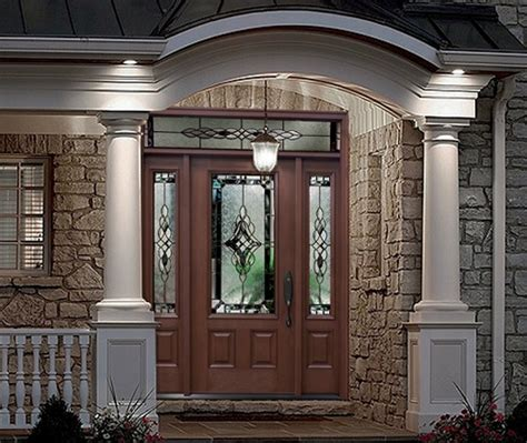 Home Depot Exterior Doors With Sidelights Front Doors With Glass Glass Front Doors Glass Entry Doors Sandblast Frosted Reeds 3d Gc Front