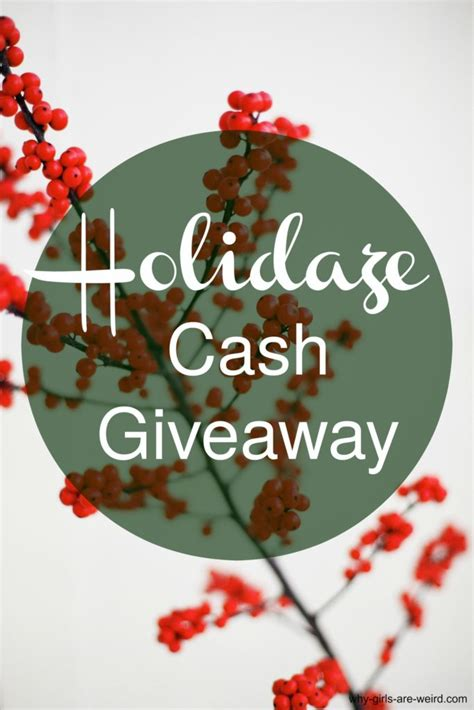 Giveaway Sign Up - 200 holiday cash giveaway my pixie blog